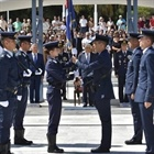 Marina Konstantinou becomes the first female captain of the Greek Air Force Academy
