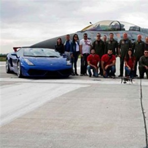 Students Built A Single Seat Car That Competed With A Fighter Jet